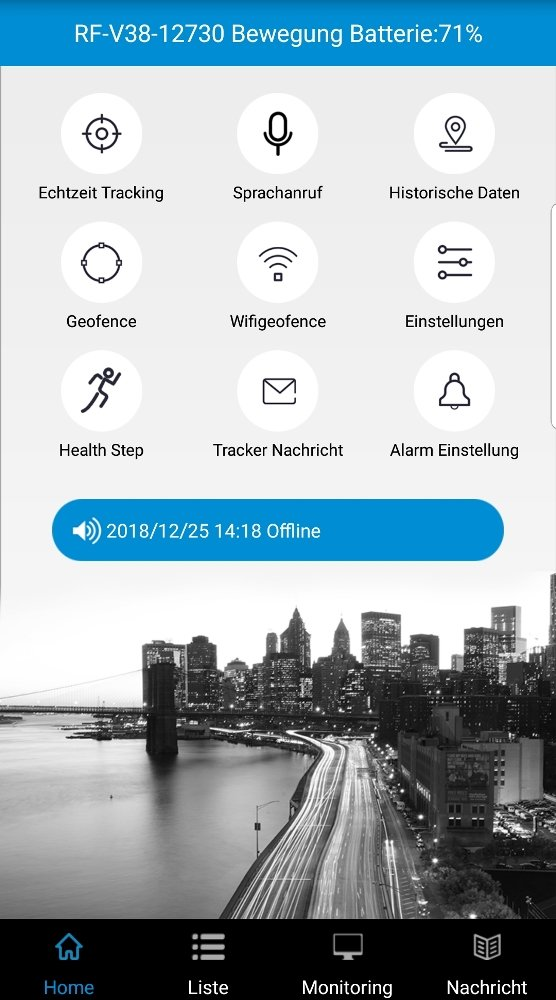 Tracking App Portal